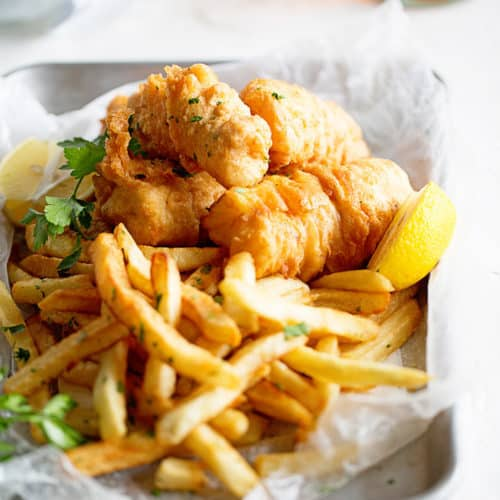 Fish And Chips - British Meals