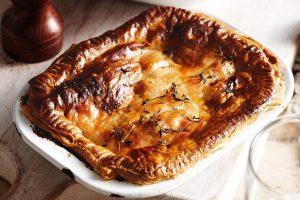 Steak And Kidney Pie - British meals
