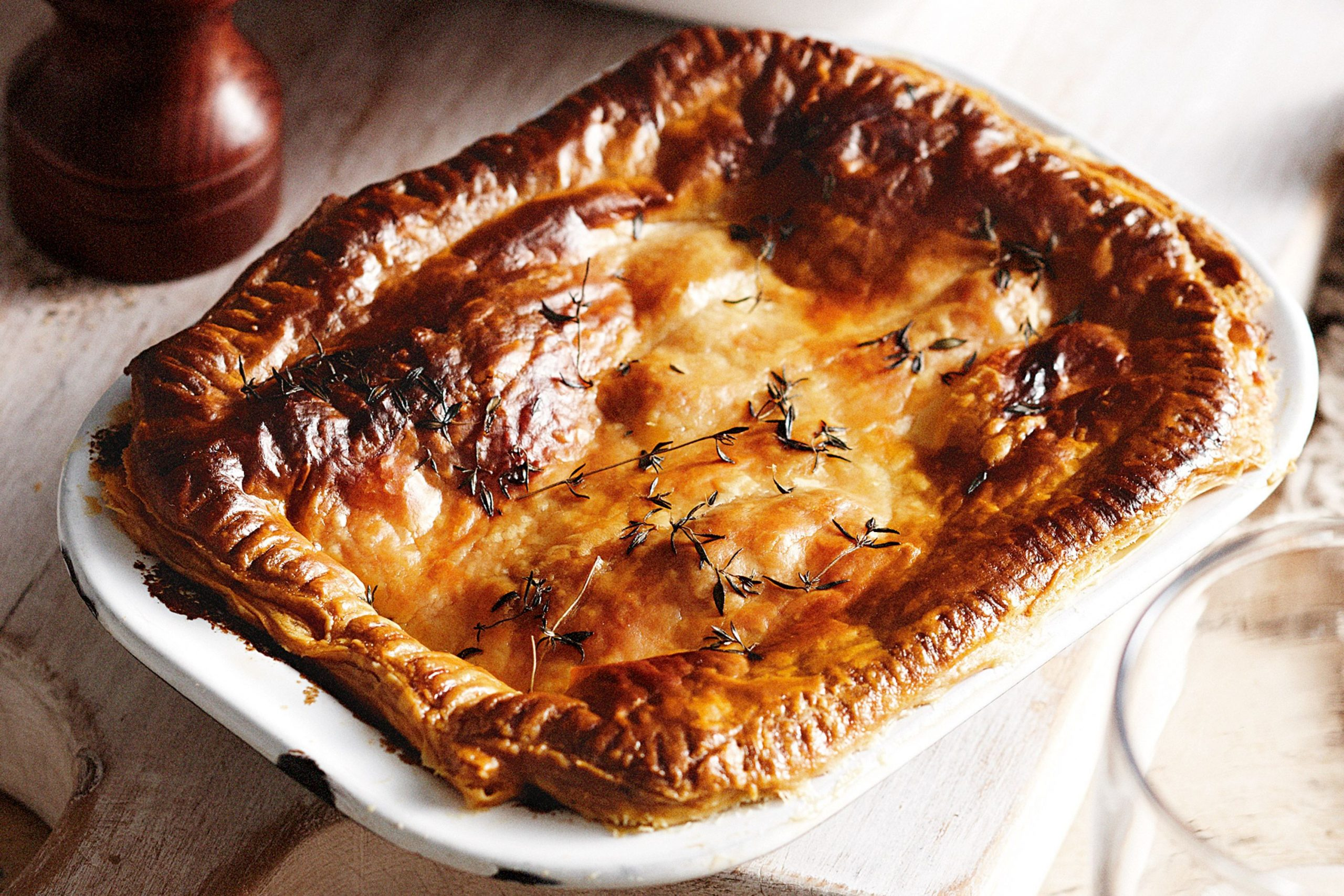 Steak And Kidney Pie - British meals