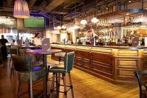 Visit Canary Wharf's now empty Bars and Restaurants