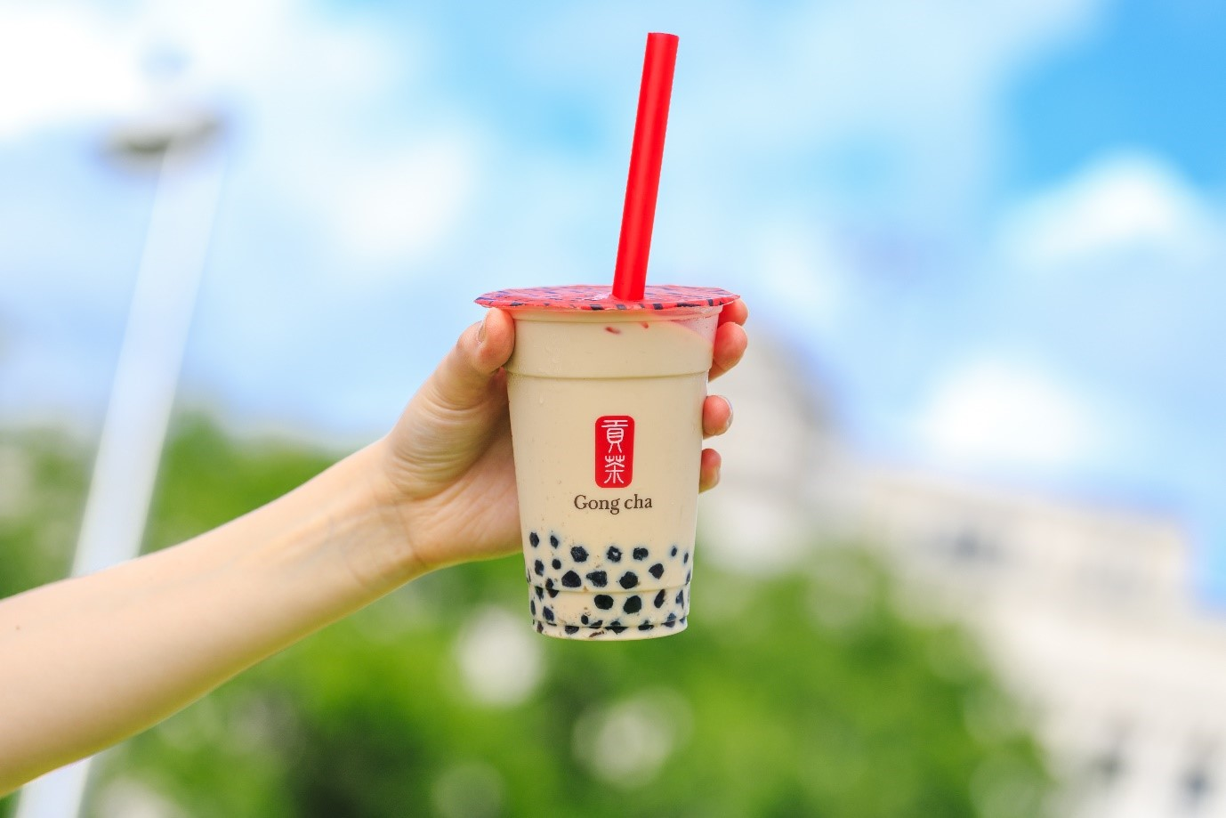 Taiwanese Premium Bubble Tea Gong Cha Comes to London's Covent Garden this August